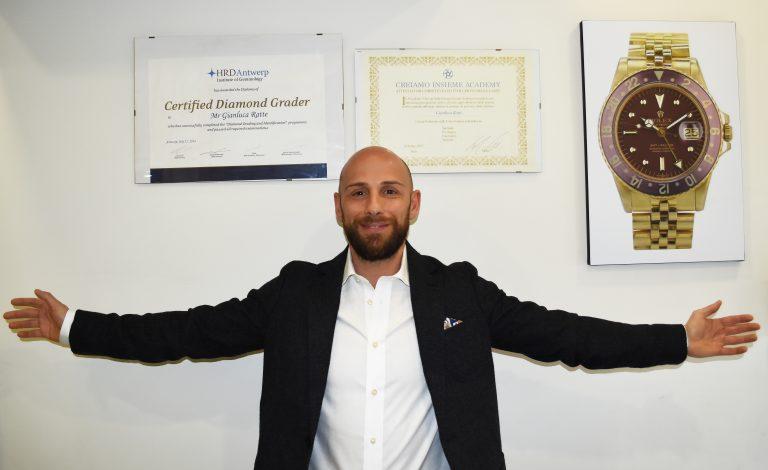 Gianluca rattè attestato gemmologico